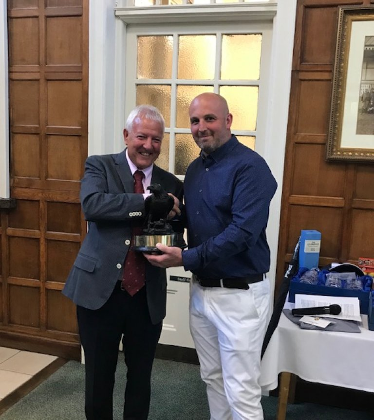 2019 Club Champion presentation